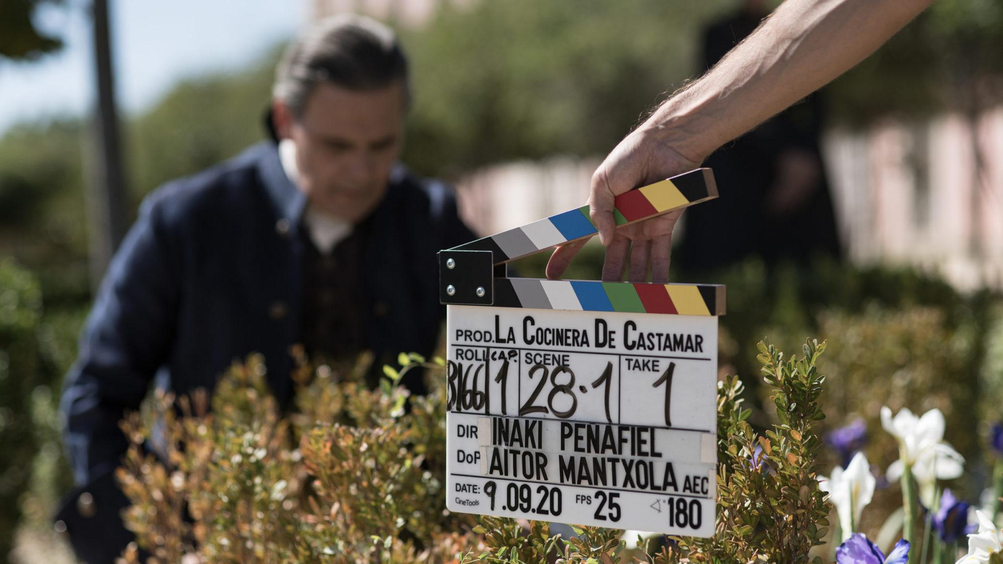 'The cook of Castamar', produced by Buendía Estudios, ends its filming
