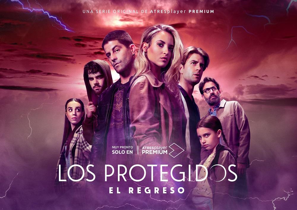 These are the official posters of 'Los Protegidos: El Regreso', very soon in ATRESplayer PREMIUM
